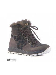 Kotníková obuv zimní dámská GINGER