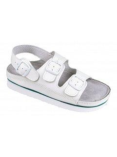 Sandál dámský bílý