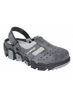 Sandál NAJA OB šedo-šedý s otevřenou patou