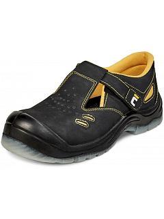 Sandál BK TPU MF S1P SRC černo-žlutý