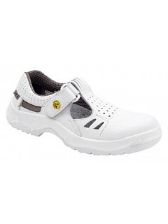 Sandál RICHARD ESD bílý bez vyztužené špice