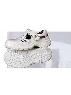Sandál RICHARD ESD bílý s vyztuženou špicí