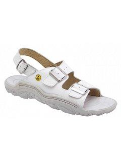 Sandál JOSHUA ESD bílý  pásek přes patu