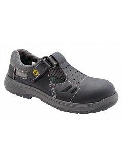Sandál RICHARD antistatický černý bez tužinky