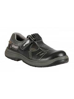 Sandál RICHARD S1 černý s plastovou tužinkou