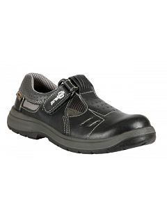 Sandál RICHARD bez vyztužené špice, černý