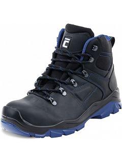 Kotníková obuv CORTINA MF S3 černo-modrá
