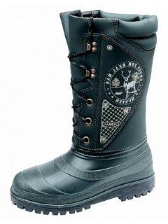 Vysoká zimní obuv s pravým beranem