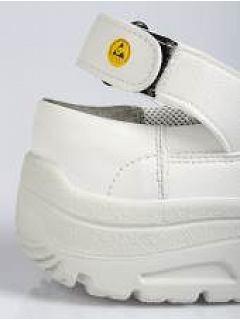Sandál ESD bílý