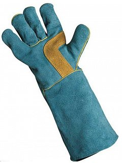 Rukavice HARPY modré 35cm
