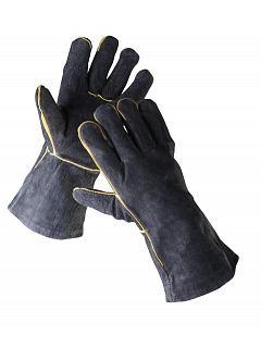 Rukavice SANDPIPER svářečské černé s podšívkou