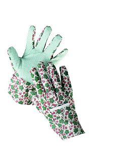 Rukavice AVOCET zahradnické dámské - PVC puntík