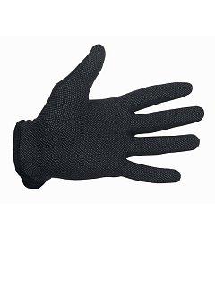 Rukavice BUSTARD BLACK s PVC terčíky