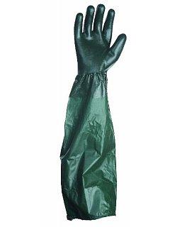 Rukavice PVC UNIVERSAL hladké s návlekem