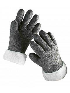 Rukavice ALASKA úplet máčený v PVC,zimní