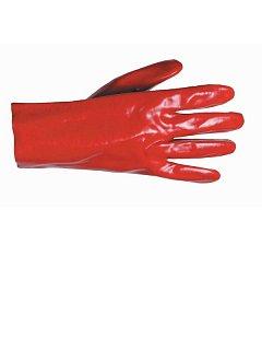 Rukavice REDSTART PVC na bavlněném úpletu - 27 cm