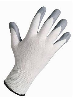 Rukavice BABBLER bílý nylon,povrstvené