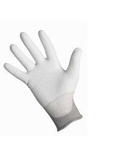 Rukavice FLICKER bezešvý šedý nyl.úplet