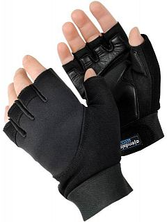 Rukavice antivibrační černé, half finger  TEGERA® 901