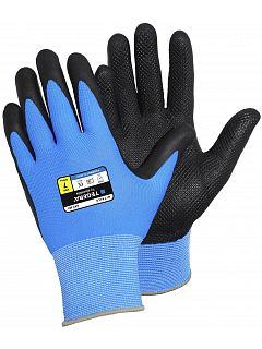 Rukavice nylon/nitril pěna mřížka dlaň TEGERA® 887