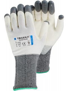 Rukavice protiřezná bílá st. 5  TEGERA® 981
