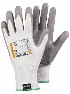 Rukavice protiřezná bílá/šedá  TEGERA® 430