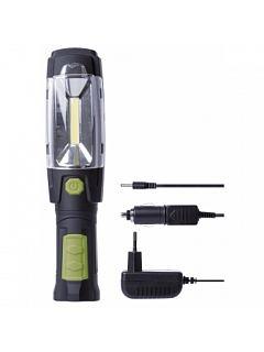 COB LED nabíjecí svítilna + 6 LED