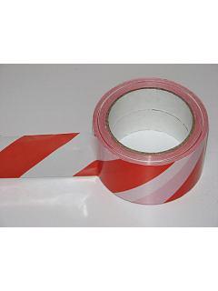 Výstražná páska červeno-bílá 500m