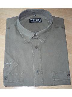 Košile krátký rukáv 100% TENCEL