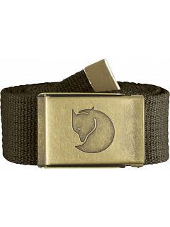 Opasek Canvas Brass Belt 4 cm