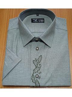 Košile krátký rukáv dubová ratolest