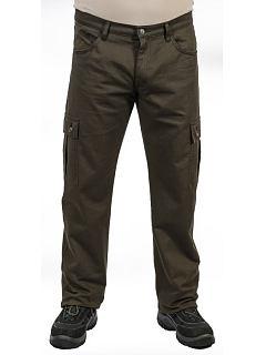 Kalhoty kapsáče letní zelené