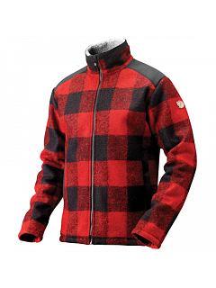 Bunda fleece z vlněné směsi  Woodsman Jacket