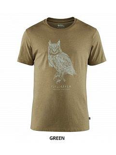 Tričko pánské Owl Print T-Shirt