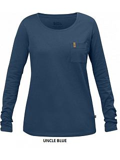 Triko dámské Övik Pocket T-Shirt LS W