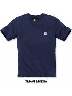 Tričko pánské s kapsičkou krátký rukáv
