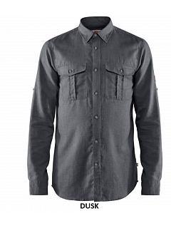 Košile pánská Övik Travel dlouhý rukáv