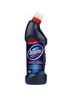 DOMESTOS ocean WC gel 750 ml