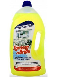 SGRASSA E BRILLA  5 l  odmašťuje a čistí