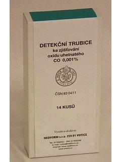 Detekční trubice CO k nasávacímu zařízení