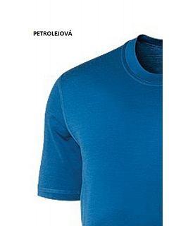 Triko pánské krátký rukáv  MERINO MOIRA   ML/KR