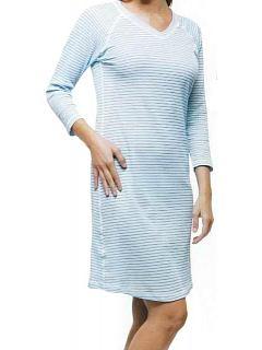 Noční košile dlouhý rukáv dámská   SM/DNK1