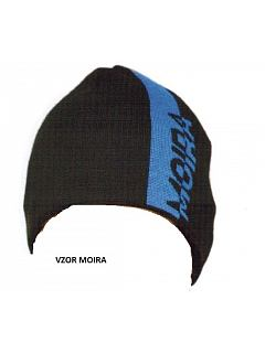 Čepice se vzorem MOIRA WOOL  MW/CE1