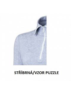 Rolák na zip dámský   MERINO MOIRA   MW/DRZ5