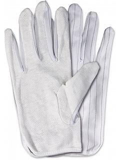 ESD rukavice EAL s PVC terčíky