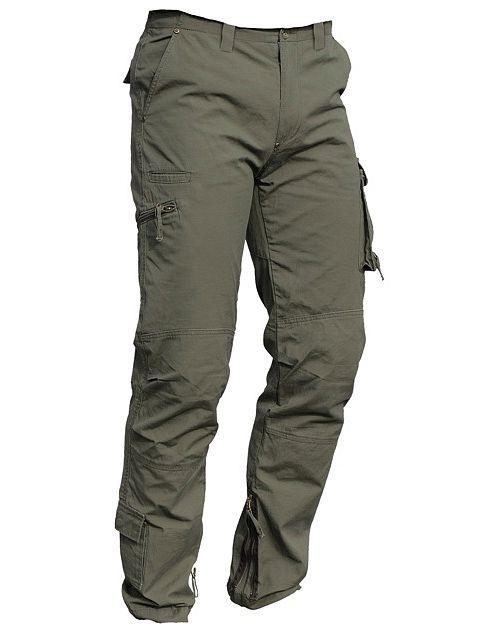 Kalhoty do pasu pracovní vojenského stylu - 022560  342a709549
