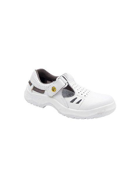 Sandál RICHARD ESD bílý bez vyztužené špice - 031688  423f752cd7e