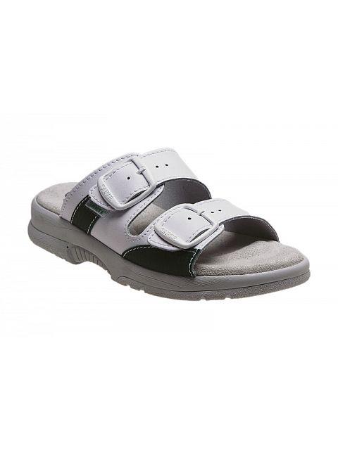 Zdravotní pantofle dámské bílé - 03182  79d43b5987