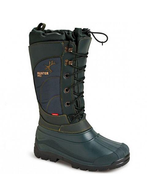 Vysoká lovecká zimní obuv s pravým beranem - 032006  85b4a261ba