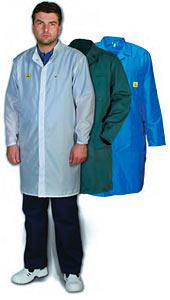 ESD ochranný plášť
